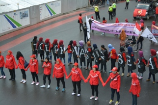 Women's International Day Demonstration
